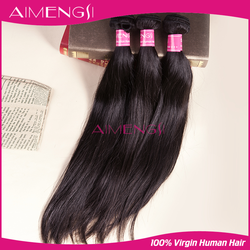 Hot sale thick ends real virgin unprocessed direct factory peruvian virgin hair straight 3 pcs