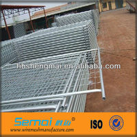 welded removable hot-dipped Galvanized Temporary Fence temporary mobile fence