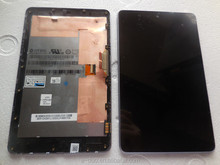 For Asus Nexus 7 LCD digitizer touch screen assembly with frame bezel