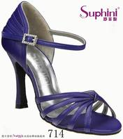 Dancing shoes royal blue high heels