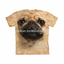 Latest design onling shopping 3d printing t shirts for mens