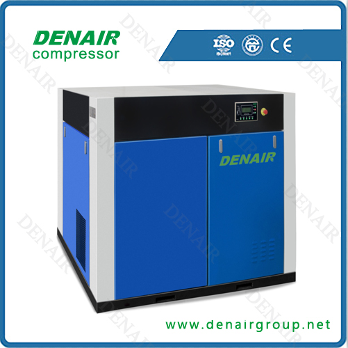 Oil-free Lubrication Style and Screw Type silent air compressor
