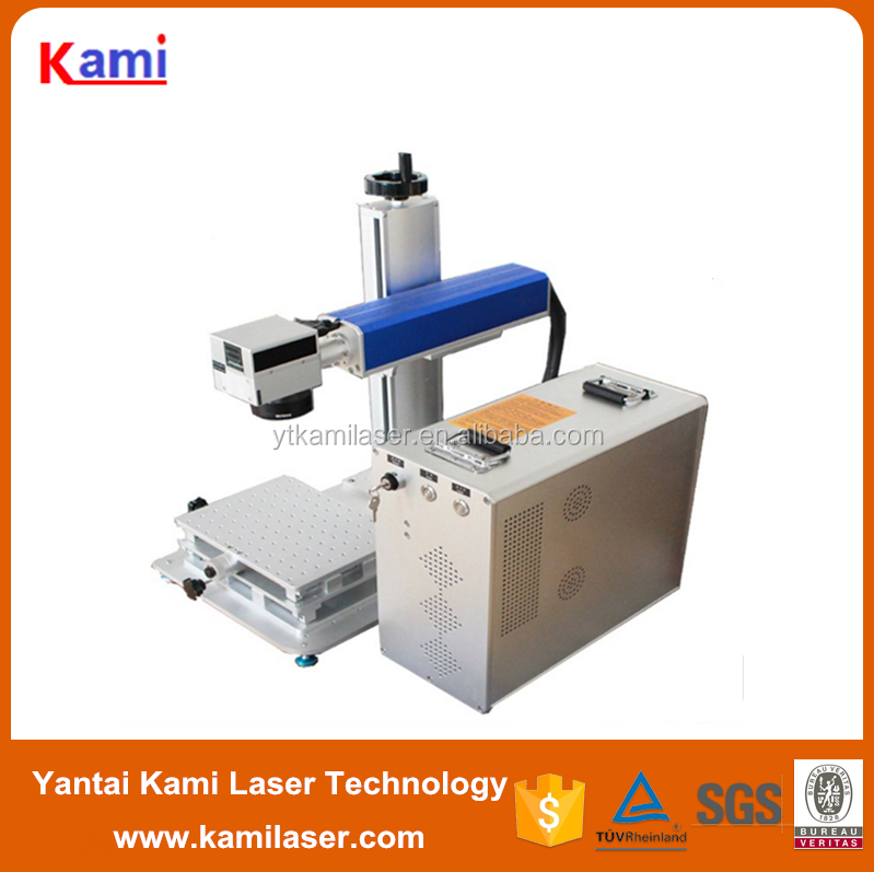Automatic Fiber Laser Marking Machine For Series Number, Codes, Production Date
