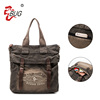 Latest Vintage stone wash Canvas handbag Factory Guangzhou