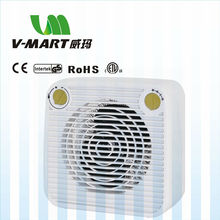 V-mart 220v room heater portable fan heater with CE GS ETL SAA RoHS certificate