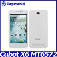 Original Cubot P6 MTK6572W 1.3GHz Dual Core Android 4.2 5.0'' Smart Phone