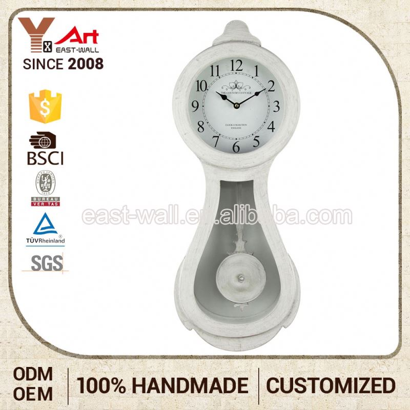 Personalized Creative Items Iron Wall Hand Clock Quartz