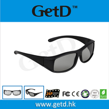 Real D Passive new glasses 3D used for Theater and 3D TV