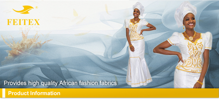 African Style Free Shipping Feitex Different Kinds Fabric, Traditional Fabric Cotton Fashion Dressing for Wedding, Party
