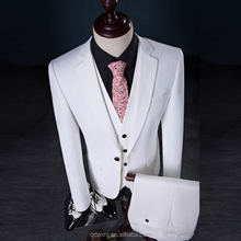bespoke men wedding suit for groom white made to measure tuxedo suits
