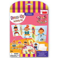 Dress Up Activity Kit - Friends