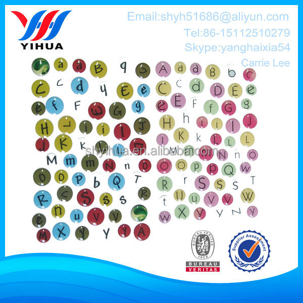New arrival crystal cheap printed round clear epoxy sticker