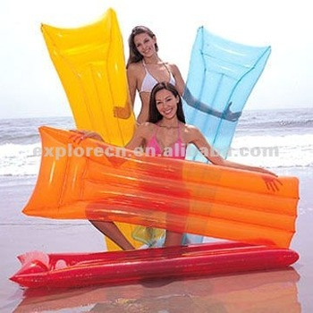 inflatable beach mattress