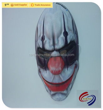 Halloween Occasion PVC Party Face Mask, Mask manufacturer