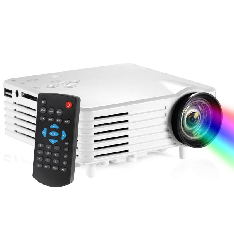 Top sales 1080P 120 Lumens Portable Mini LED Projector for Home Theater, Support HDMI