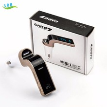 G7 a2dp bluetooth handsfree car fm transmitter