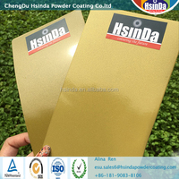 High quality Gold effect metallic powder coating powder paint