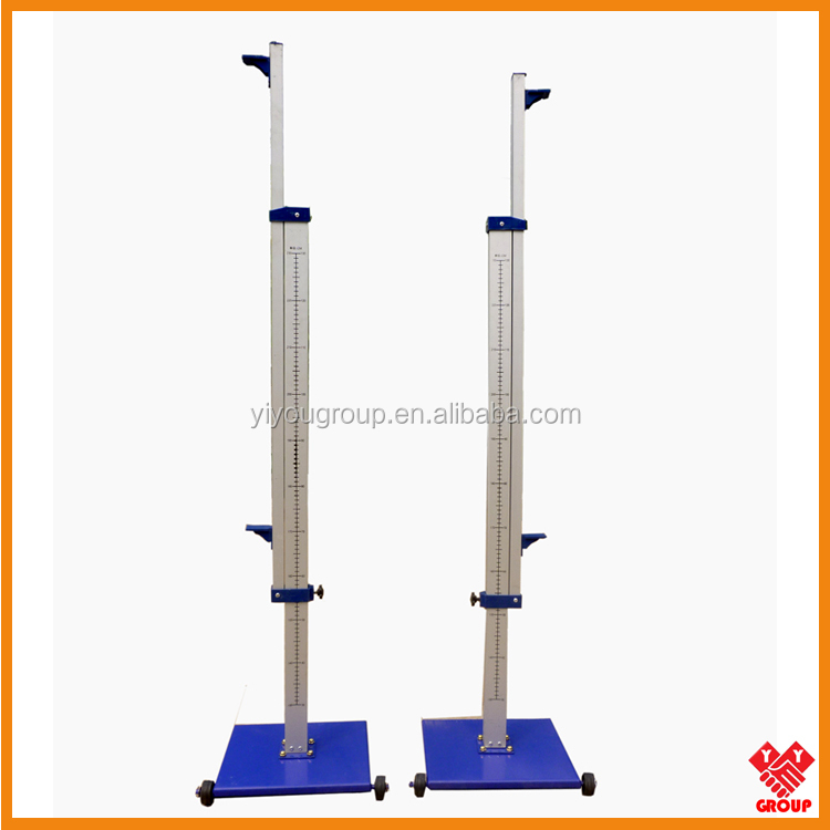 Track and Field Equipment Stainless Steel High Jump Stand for competition