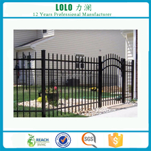 Black Steel Yard Gates Grill Fence Gate Designs