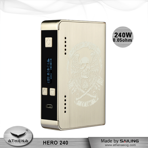 Alibaba china new model electronic cigarette box mods hot product vapor cigarette