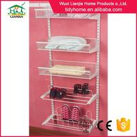 Factory price diy wall clothing rack for clothes hanger