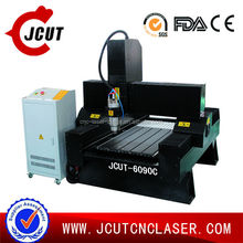 4.5 KW constant power/mini/warranted / chinese professional CNC Engraver JCUT-6090C (23.6X35.4X 11.8inch) with water channel