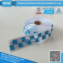 printed 5cm High visibility reflective PVC tape for safety vest reflective arrow tape, reflective pvc tape for truck