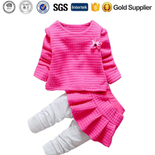 Spring kids Clothing Sets 2 pcs Top pants baby girl clothes suits