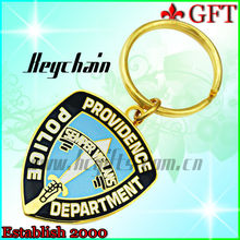 2013 Fashion metal gold car brand logo/ car logo keychain/cheap custom keychains