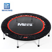 50 inch durable folded easy storage gymnastic round home fitness a indoor trampoline