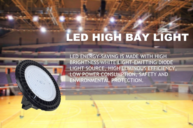 The only one industrial ufo high bay light 50w 100w 150w 200w with square power box on the market
