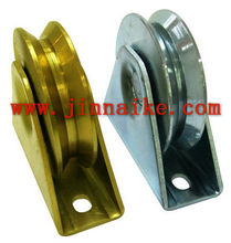 zinc plated door pulley,sliding doors rollers wheels