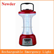 Multifunction rechargeable LED emergency lamps with MP3 Player and Radio