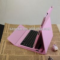 2013  bluetooth keyboard leather case for 10.1 tablet