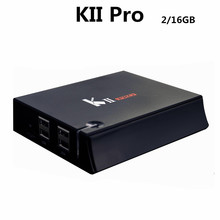Wholesale uhd 4k satellite receiver KII Pro dvb t2 dvb s2 combo 2GB/16GB Amlogic S905 CPU dual band wifi