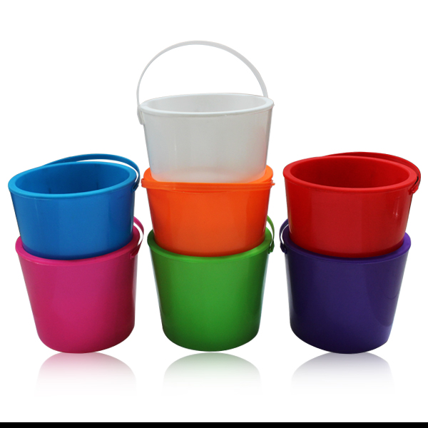 Wholesale factory price plastic led ice bucket with handle
