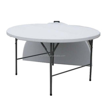 152cmD Restaurant leisure plastic dining table sets