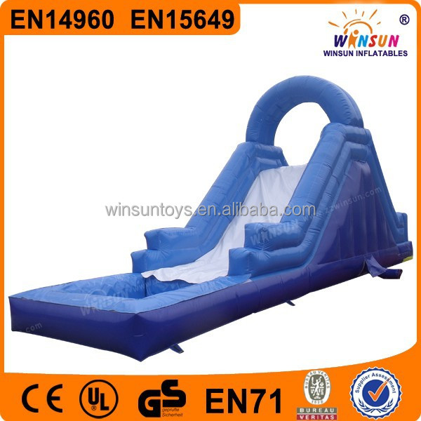 cheap backyard inflatable water slides wholesale for adult