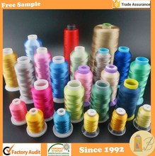 High Quality with More than 25 years Manufacturing Experiences 120D/2 Embroidery Thread