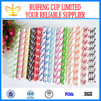 Guangdong wholesale supplies Striped Straws