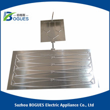 Aluminium Roll bond evaporator for refrigerator and beverage showcase