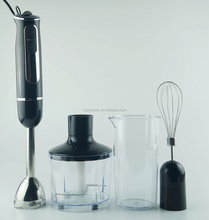 4 IN 1 mini Hand Blender with Chopper Mixer Egg Beater