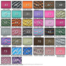 New Paracord 550 Paracord Parachute Cord Lanyard Rope Mil Spec Type III 7 Strand 100 FT 80 colors