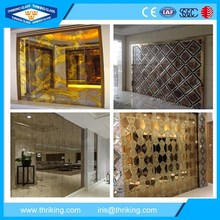 5-8mm high quality antique mirror glass for bedroom and home decoration