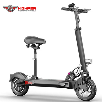 Foldable Two  Wheels 600W 48V Scooter Electric Adult