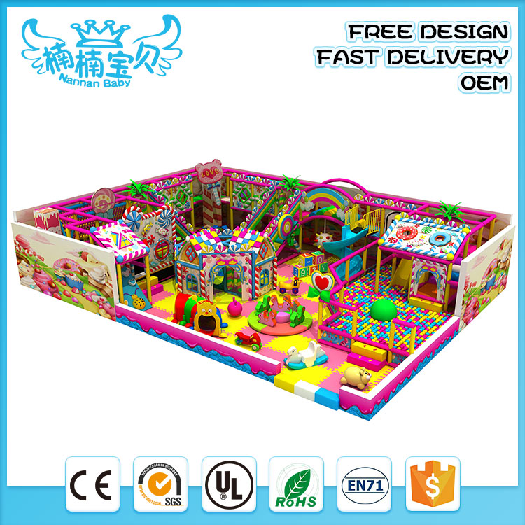 Safety play swing and slide indoor playground indoor adventure playground for adults