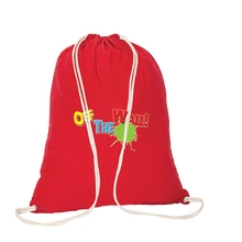 promotional calico cloth bags with drawstring large