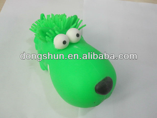 6.5'' Big mouth dog of bulging eyes