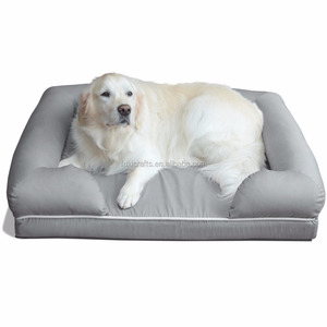 Pet Fashion Ultimate Memory foam Dog Bed & Lounge, Grey