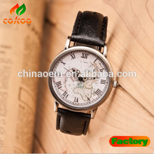 Fashion new watches,alloy leather watches,romanson men map watch